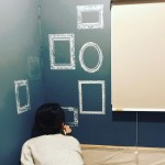 Natalさんにて、壁絵製作♪♪