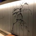 問屋町テラス ファルファラ様壁画製作①