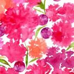 是里ワイン様、母の日ギフト用パッケージ水彩イラスト(ロゼ・シロ)