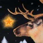 11月17日クリスマスチョークアート教室見本