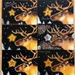 11月17日開催 テーマ『クリスマス』チョークアート教室